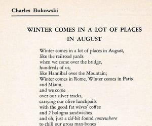 poem, poetry, and charles bukowski image
