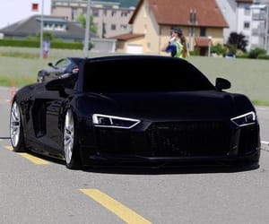audi, auto, and black image