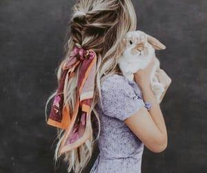 hair, fashion, and animal image