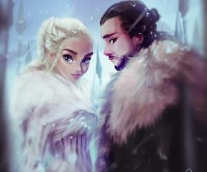 game of thrones, jonerys, and daenerys image