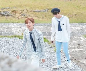 jin, bts, and yoongi image