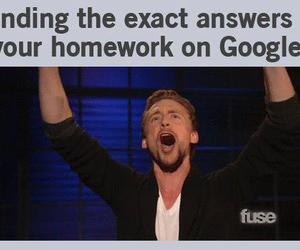 funny, google, and homework image