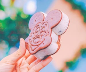 dessert, disney, and food image
