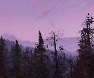 dusk, fallout, and landscape image