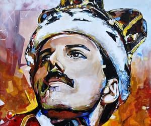 Freddy, mercury, and portrait image
