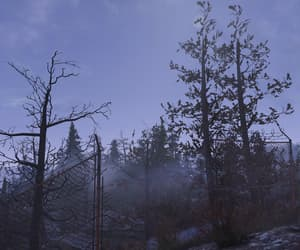 blue, mysterious, and fallout image