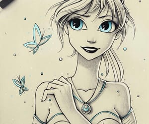 anna, drawing, and art image