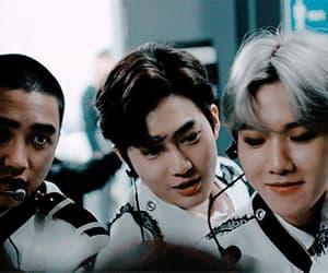 exo, gif, and k-pop image