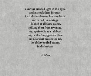 broken, words, and poem image