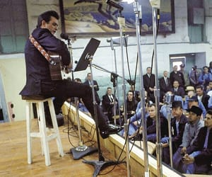 Johnny Cash, music, and outlaws image