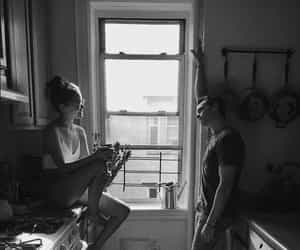 couple and kitchen image