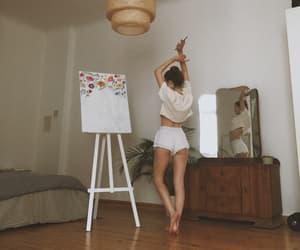 girl, art, and fashion image