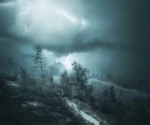 landscape, photography, and storm image