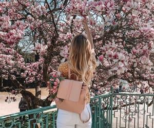 bag, blonde, and bloom image