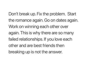 answer, best friends, and break up image