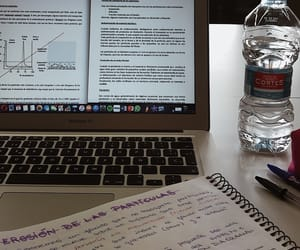 Estudio, girl, and medicine image
