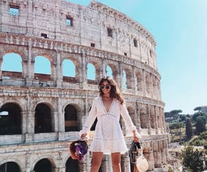 italy, rome, and girl image