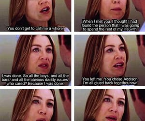 meredith, quotes, and greys anatomy image