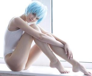 gorgeous, Neon Genesis Evangelion, and rei ayanami image