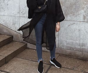 black, classy, and elegant image