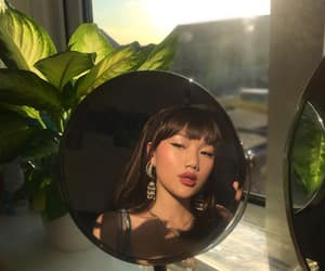 chinese, girl, and mirror image