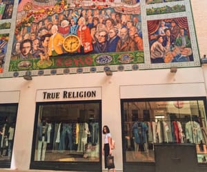aesthetic, wall, and true religion image