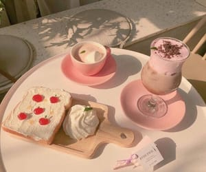 food, sweet, and cafe image