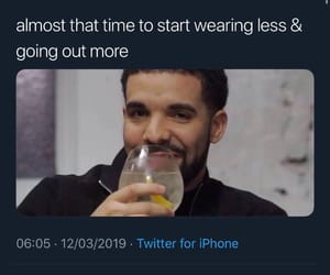 Drake, lol, and twitter image