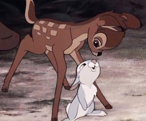 bambi, disney, and theme image