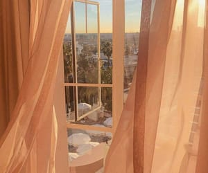 aesthetic, curtains, and window image