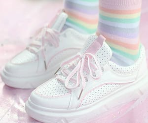 pastel, kawaii, and rainbow image