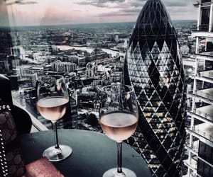 city, london, and Londres image