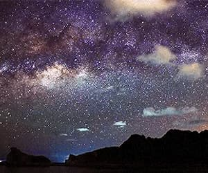 digital art, galactic, and gif image