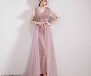 8c9afbfe832c ... Gown Strapless Sequin Shiny Modest Prom Dresses PFP1193 Elegant Candy  Pink Evening Dresses 2019 Trumpet / Mermaid V-Neck Short Sleeve Sequins  Beading