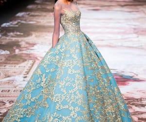 blue, moda, and model image