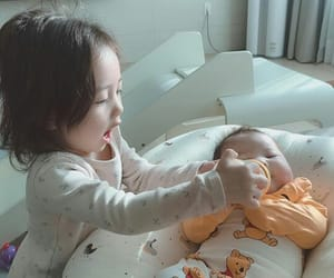 ulzzang kids, ulzzang family, and ulzzang baby image