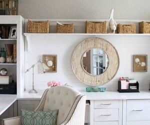 home, deer decor for home, and decorating a home office image