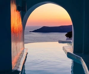 Greece and landscape image