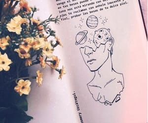 amor, book, and drawing image