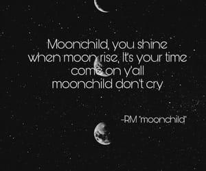 rm, kim namjoon, and moonchild image