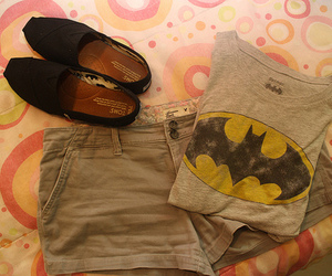 fashion, batman, and shorts image