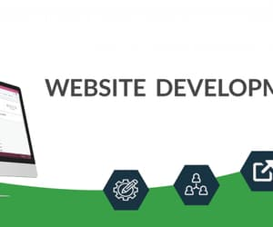 web development company, web development services, and website development image