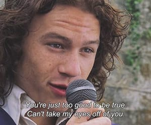 movie, heath ledger, and 10 things i hate about you image