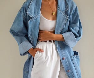 aesthetic, jean, and fashion image