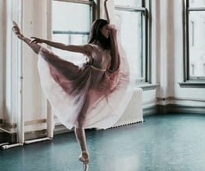 ballet, dance, and pink image