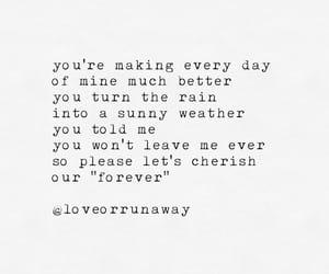 cherish, poem, and poems image