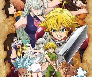 anime, nanatsu no taizai, and meliodas image