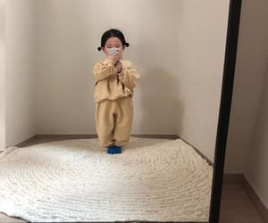 aesthetic, baby, and korean image
