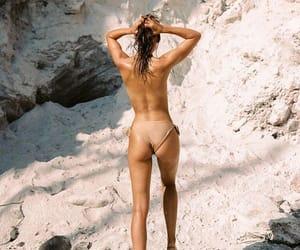 bikini, nature, and body image