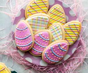 easter, Cookies, and food image